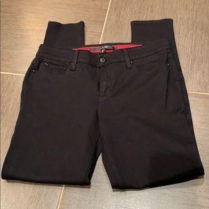 Joe's Jeans black leggings. Size 28 EUC